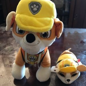 Set of 2 Paw Patrol Plushies